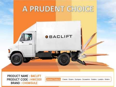 Truck Baclift (Material Handling Equipment)