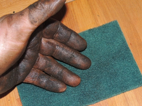 Dirty Hands - Clean Greasy Hands Better and Faster