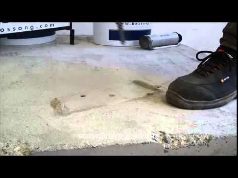 Foratura e pulizia foro ancorante chimico