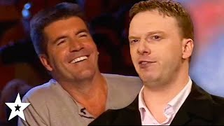 Comedy Impressionist WOWS Simon Cowell on BGT | CLASSIC AUDITION | Got Talent Global