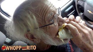 Angry Grandpa - The Burger King Whopperito!