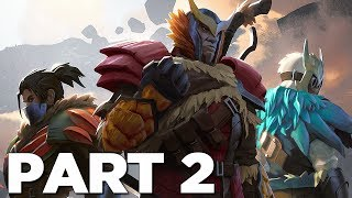 DAUNTLESS Walkthrough Gameplay Part 2 - BOREUS (Story Campaign)