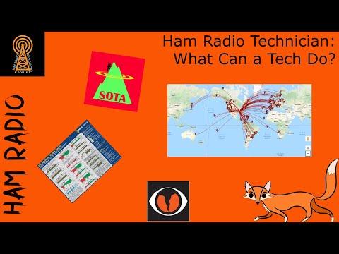 Ham Radio Technician: What Can You Do?
