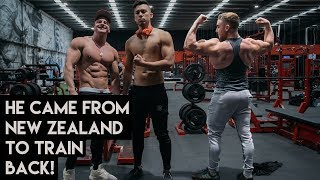 A New Back Workout | Bulk Update. Zac Perna ft. Josef Rakich
