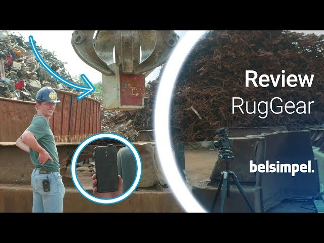 Belsimpel-productvideo voor de RugGear RG160 Black