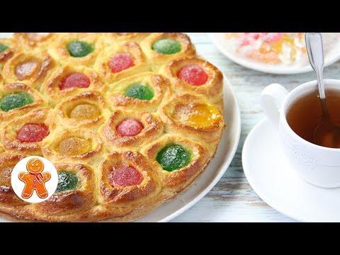 Пирог «Самоцветы»