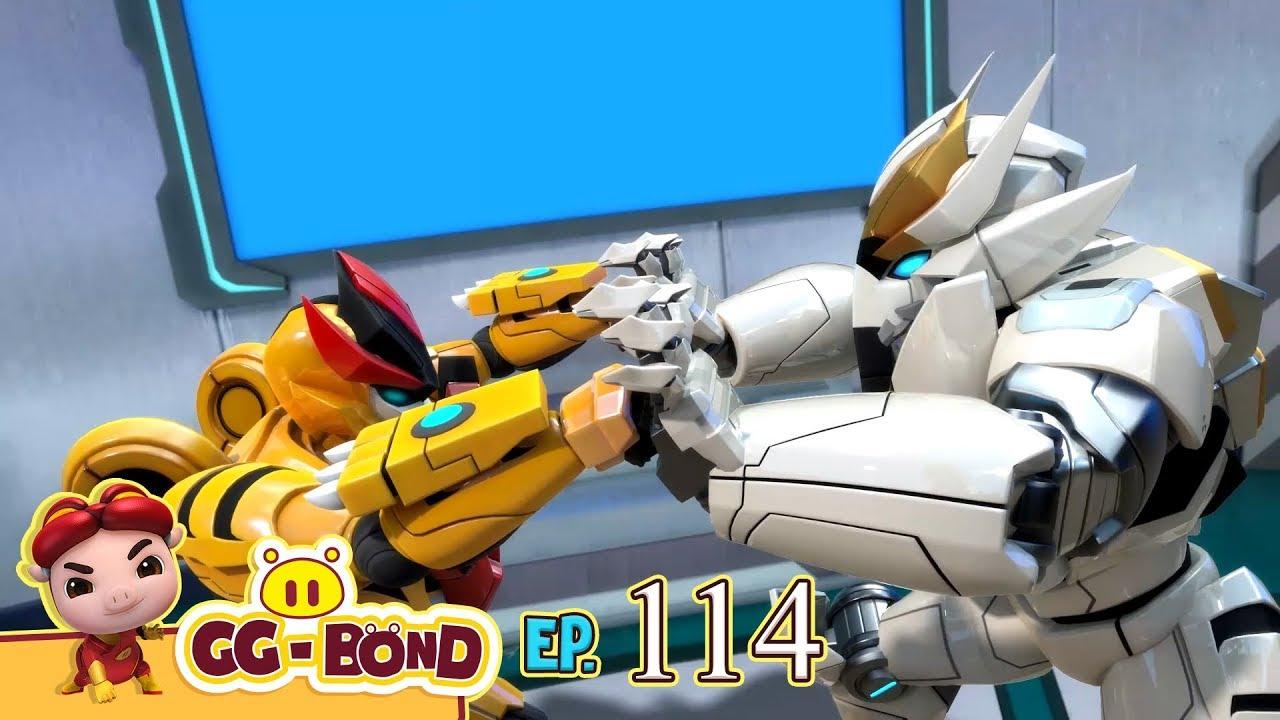 GG Bond - Agent G 《猪猪侠之超星萌宠》EP114《失控的钢齿虎》