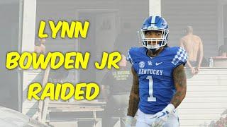 Raiders Lynn Bowden Jr Handcuffed during DEA Raid