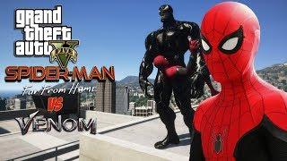 SPIDER-MAN: FAR FROM HOME!! (GTA 5 Mods) - Playxem com