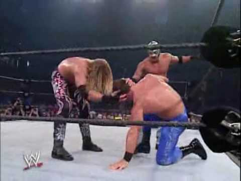 Kurt Angle et Chris Benoit vs Edge et Rey Mysterio part 3