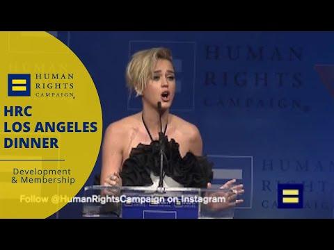 #HRCLADinner: Katy Perry speaks at Los Angeles Gala Dinner