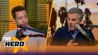Chris Broussard on LeBron's 'absolutely unprecedented' play in 2018 | THE HERD