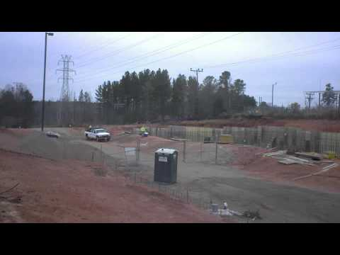 Retaining Wall Time-Lapse