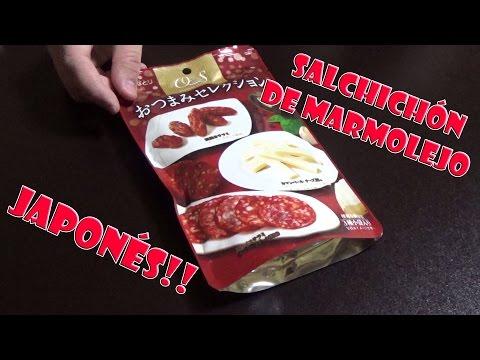 Embutidos Japoneses Envasados y Cortados. Estilo Gourmet