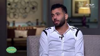 صاحبة السعادة | عماد متعب : انا ابن النادي الاهلي وهدفي ارجع المهاجم الاول ...