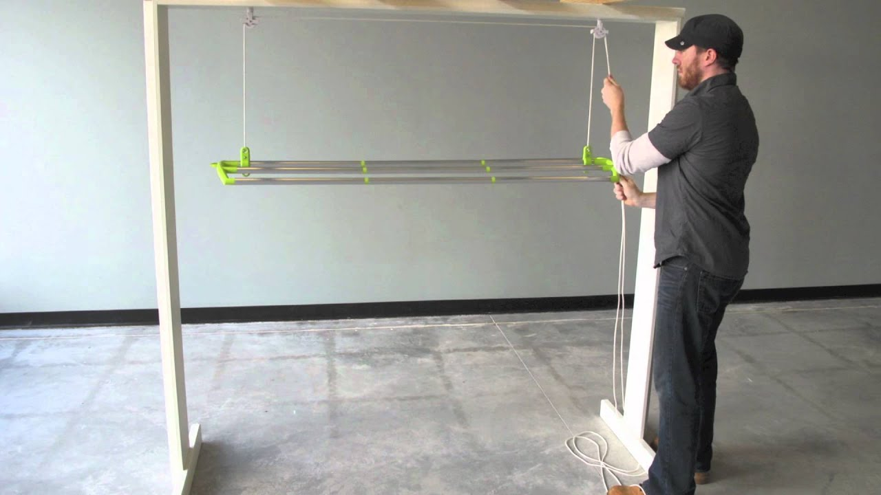 Lofti Laundry Drying Rack Youtube