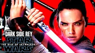 Daisy Ridley Responds To Dark Rey! The Rise Of Skywalker (Star Wars Episode 9)