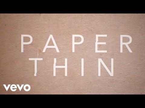 Astrid S - Paper Thin (Lyric Video)