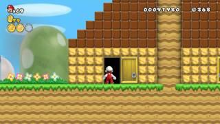 New Super Mario Bros Wii Hellboy Edition Welt 1-1 bis 1-Tower