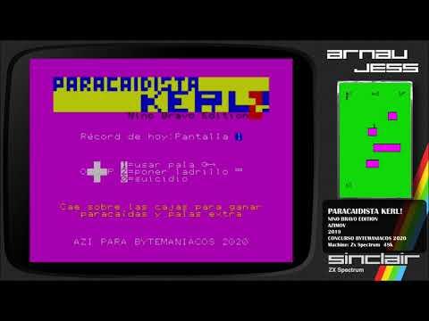 PARACAIDISTA KERL! Zx Spectrum by azimov