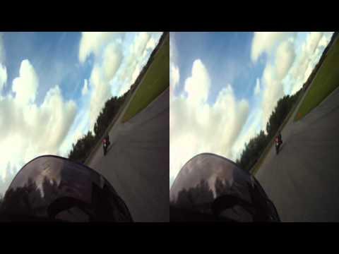 Några varv på Kinnekulle i 3D - Rapido Bandag 2011-08-09