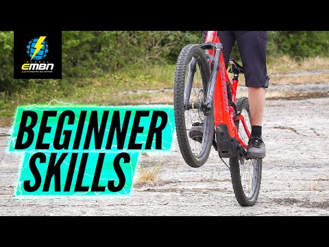 Basic E Bike Skills For Beginners | E Mountain Bike Skills