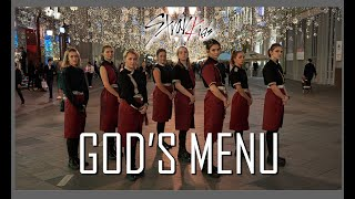 [KPOP IN PUBLIC] [ONE TAKE] Stray Kids '神메뉴(God's Menu)'  DANCE COVER by 6MIX | MOSCOW