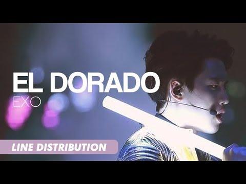 EXO (엑소) - El Dorado | Line Distribution [OT9 ver.]