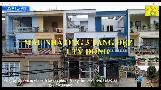 Thăm Quan Mẫu Nhà Ống 3 Tầng Đẹp Diện Tích 5x20m Tại Lào Cai Giá 1 Tỷ Đồng