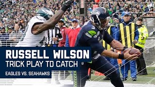 Doug Baldwin's TD Pass to Russell Wilson | 🚨Trick Play Alert🚨| Eagles vs. Seahawks | NFL