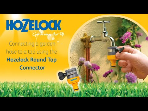 Hozelock Round/Oval Tap Connector 2176