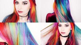 Dying My Hair Rainbow Using Arctic Fox