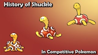 How GOOD was Shuckle ACTUALLY? - History of Shuckle in Competitive Pokemon (Gens 2-6)