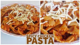 Quick And Easy   Spicy Chicken Pasta For Family Meal