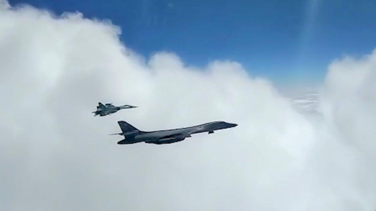 Перехват стратегических бомбардировщиков ВВС США