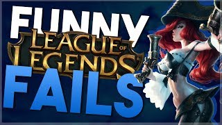 BOTS DESTROYING ME!! || League of Legends F-Cubed (Funny Fails Friday)