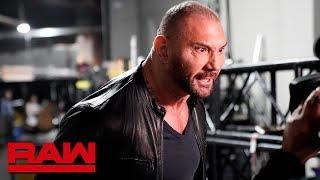 Batista attacks Ric Flair to send a message to Triple H: Raw, Feb. 25, 2019