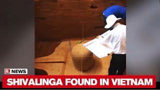 1100-Year-Old sandstone Shivalinga found by ASI in Vietnam..