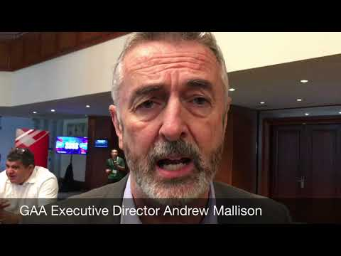 GAA Executive Director Andrew Mallison at Goal 2018
