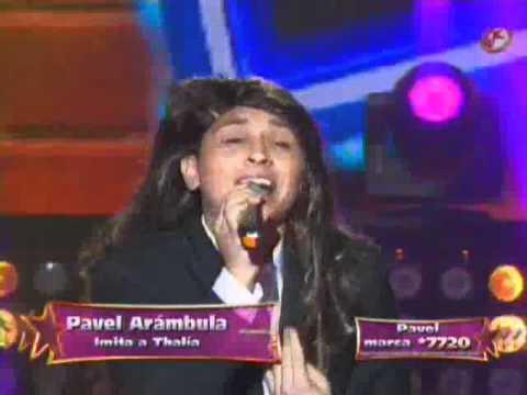 Pavel Arambula ( Paquita , Lucero , Thalia , Ana Gabriel ) Final de Parodiando