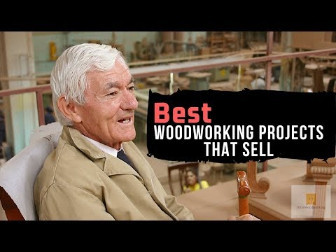 Simple & Easy Woodworking Projects That Sell