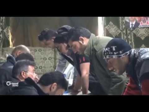 النظام يجبر أبناء الغوطة بمعسكرات الإيواء على التطوع في ميليشياته
