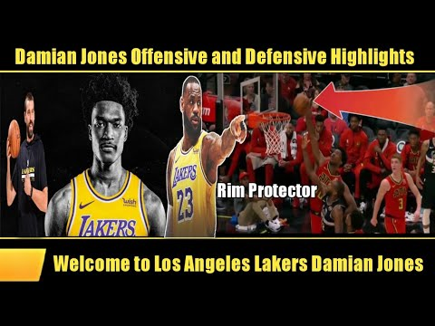 Lakers signed Damian Jones (Highlights)