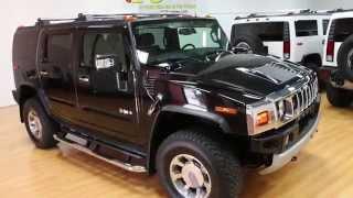 SOLD - 2008 Hummer H2 Luxury For Sale~Black & Sedona~1 Owner~27k~100% Stock~LOADED!