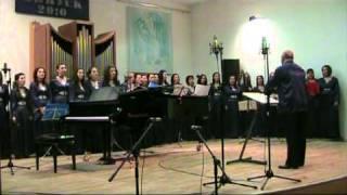 Academic Folk Choir - Bulgaria - Kolko sa, male, v selo momite
