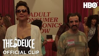 The Deuce: 'The Camera Loves You' Clip | HBO