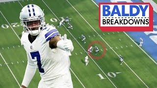 Trevon Diggs is Playing Like a DPOY | Baldy Breakdowns