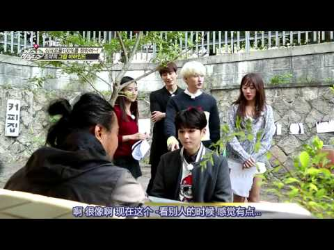 [Eng Sub] Zhoumi's portrait and Poison tongue Ryeowook (unaired)