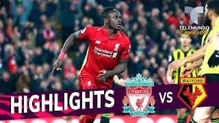 Liverpool vs. Watford: 5-0 Goals & Highlights | Premier League | Telemundo Deportes