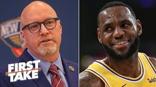 David Griffin should focus on the Pelicans, not his past with LeBron - Max Kellerman | First Take